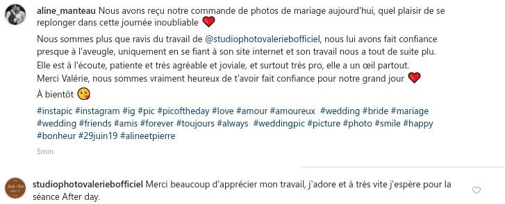 avis instagram