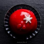 Gâteau fruits rouges studio photo valerie b