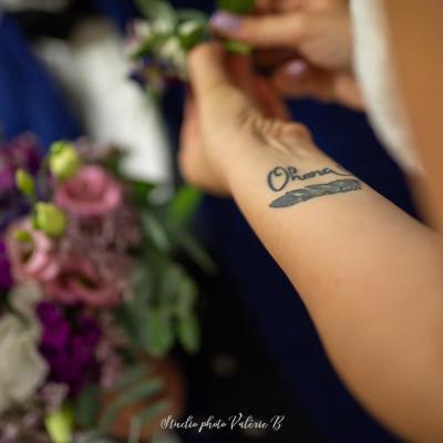 Le tatouage de la mariee