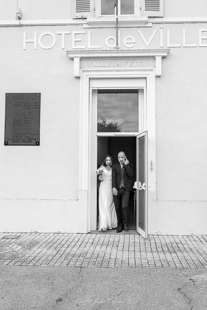 Mariage covid jard sur mer studio photo valerie b