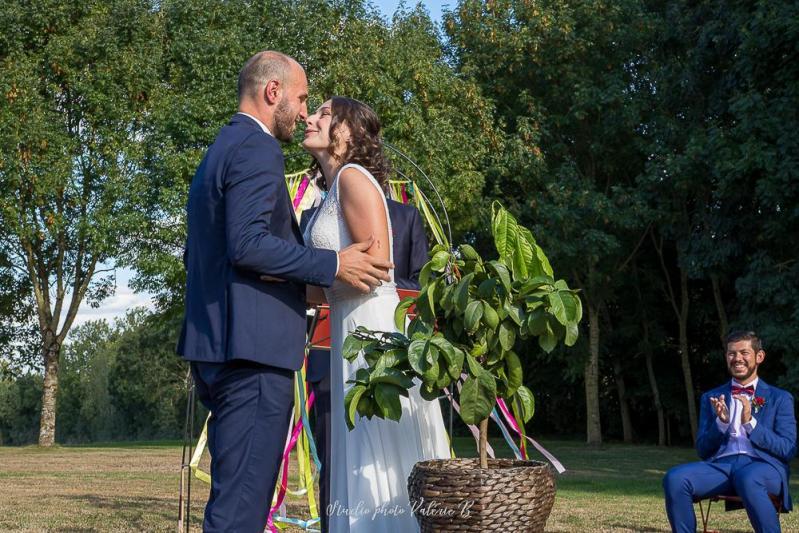 Mariage laique a la grange du prieure