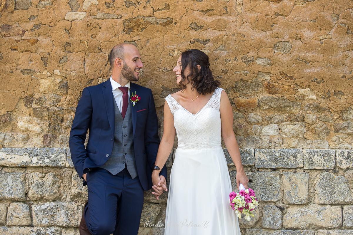 Photographe de mariage a la grange du prieure au bernard