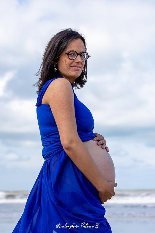 Photographe grossesse brem sur mer
