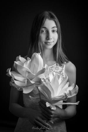 Portrait fine art studio photo valerie b