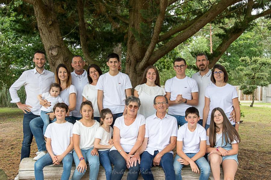 Photo famille Studio photo Valérie B