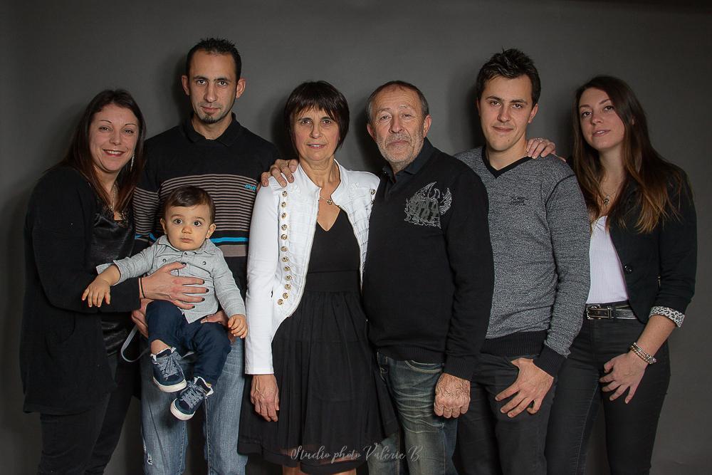 Séance photo famille Studio photo Valérie B