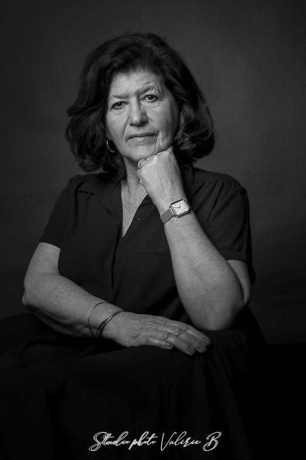 Portrait Studio photo Valérie B
