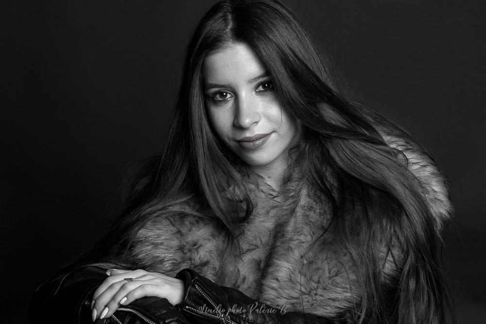 Séance portrait Studio photo Valérie B