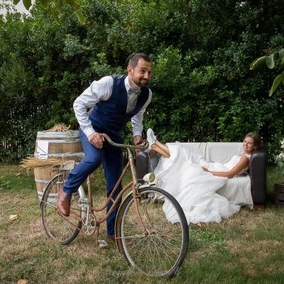 Les photos de couple à la grange du Prieuré