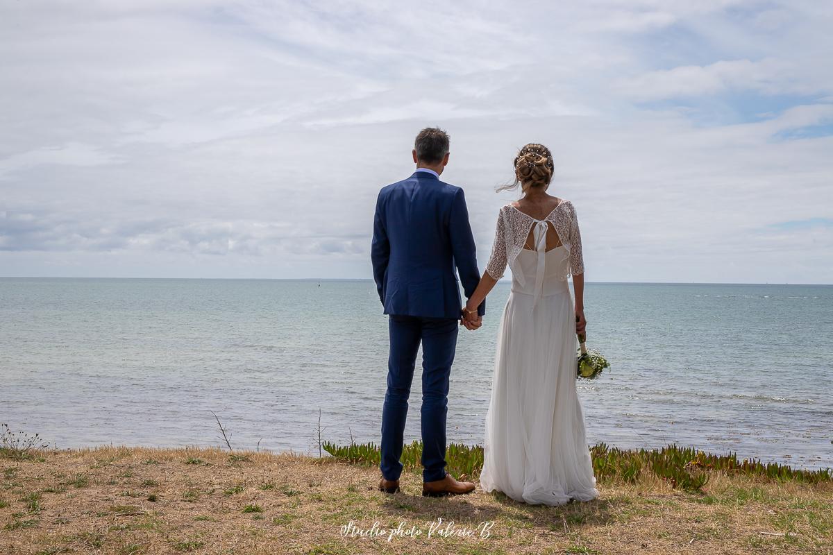Une photographe de mariage a noirmoutier